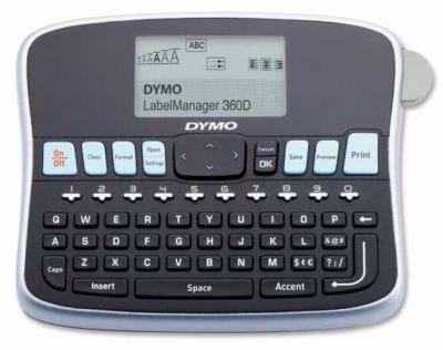 Dymo LM 360D Masaüstü, Şarj edilebilir Etiketleme Makinesi