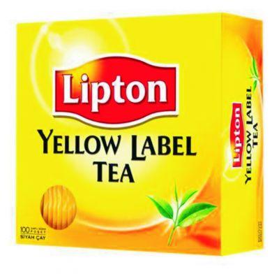 Lipton Yellow Laber Bardak Poşet Çay 100 Lü